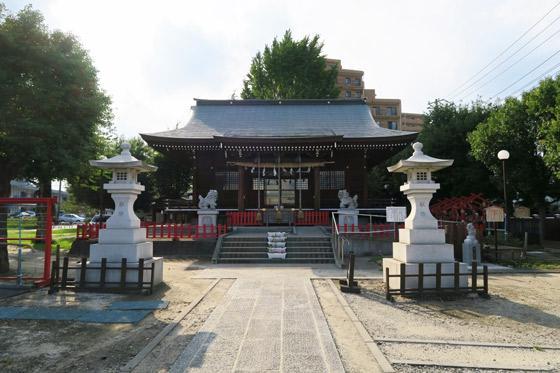 埼玉県朝日氷川神社の本殿