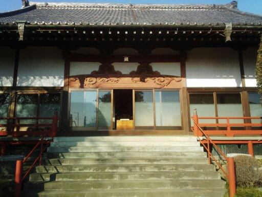 埼玉県大王寺の本殿