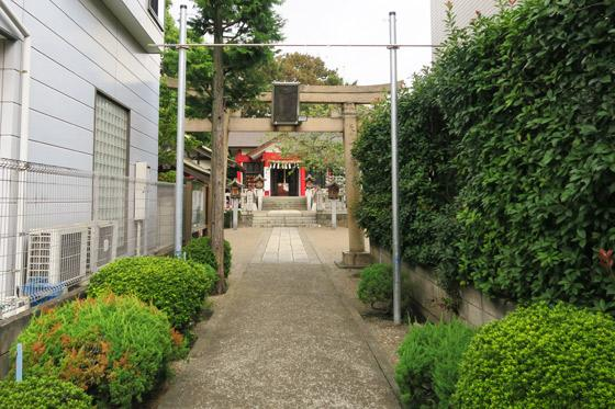 埼玉県元郷氷川神社の鳥居