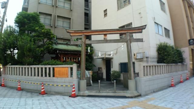 大阪府難波神社の本殿
