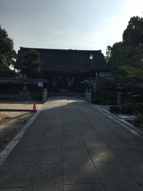 愛媛県別宮大山祇神社の建物その他