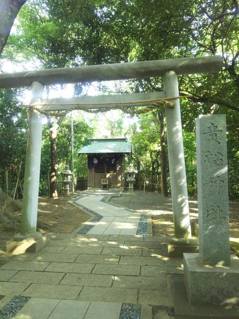 静岡県貴船神社の鳥居