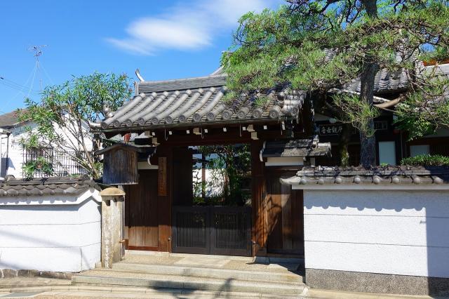 京都府法性寺の山門