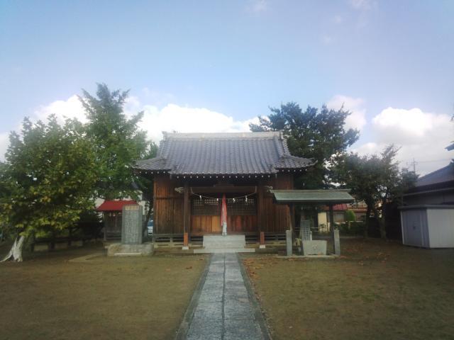 埼玉県柿木八坂神社の本殿