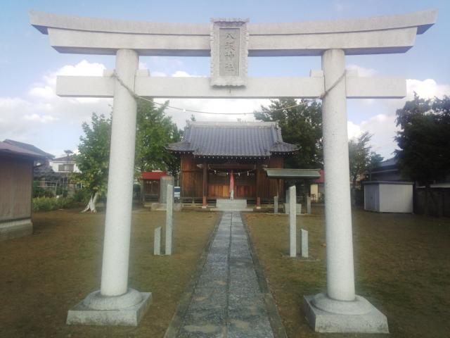 埼玉県柿木八坂神社の鳥居