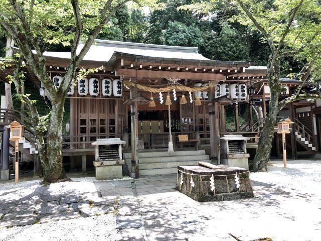 大阪府石切劔箭神社の本殿