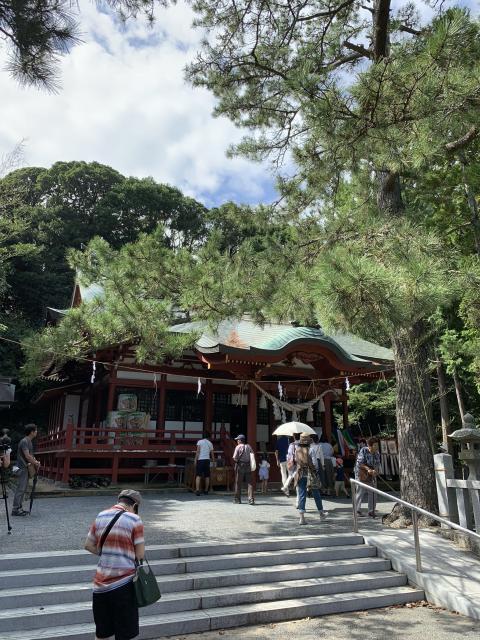 静岡県池宮神社の建物その他