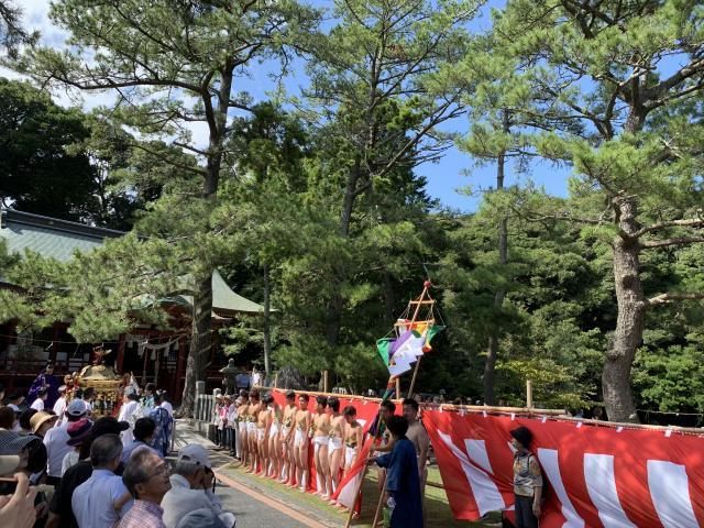 静岡県池宮神社のお祭り