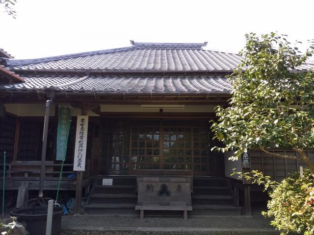 愛知県慈雲山 影現寺(時志観音)の本殿