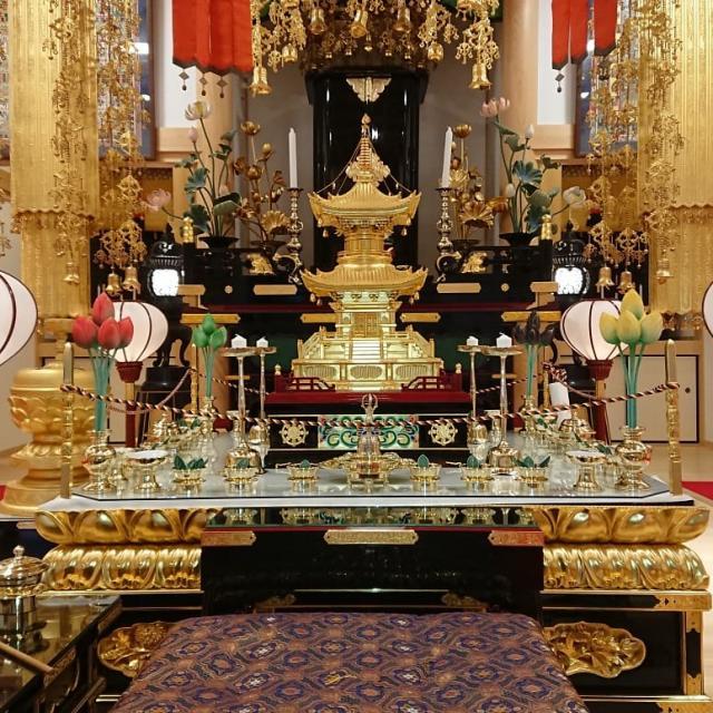 徳島県音蔵寺の本殿