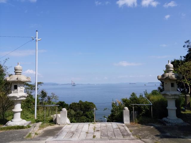 愛知県慈雲山 影現寺(時志観音)の景色