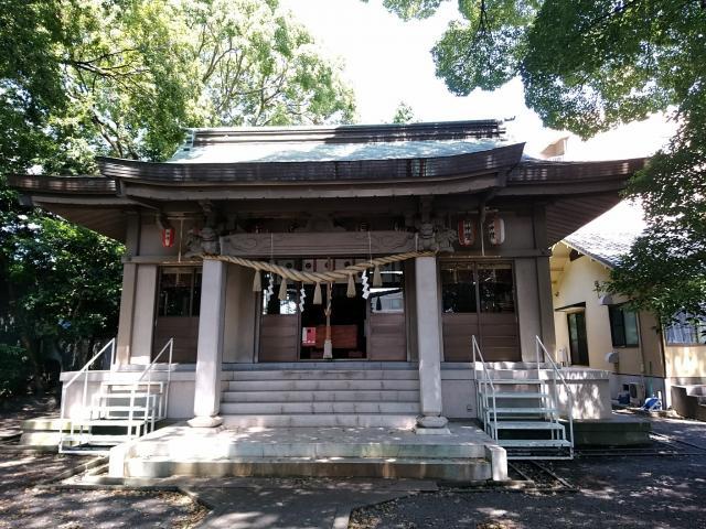 伊河麻神社の本殿