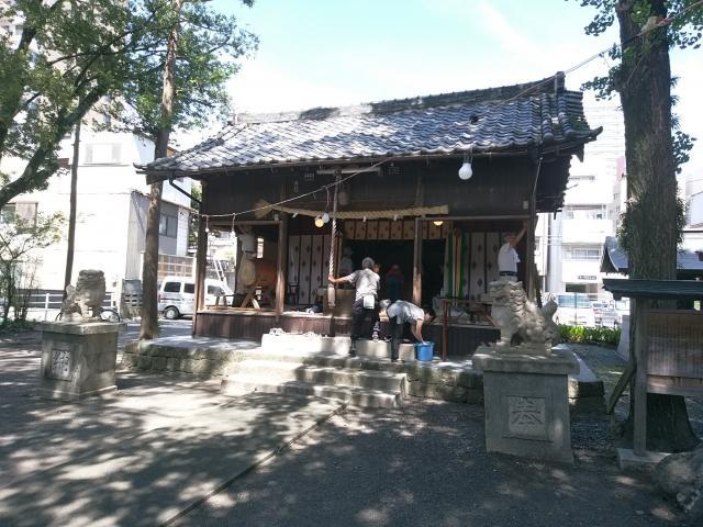 千勝浅間神社の本殿