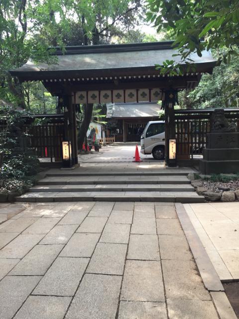 千葉県諏訪神社(駒木諏訪神社)の山門