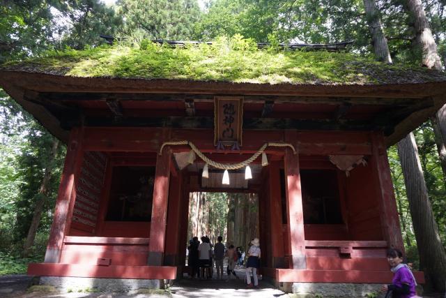戸隠神社奥社の山門