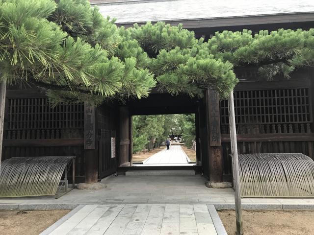香川県國分寺の山門