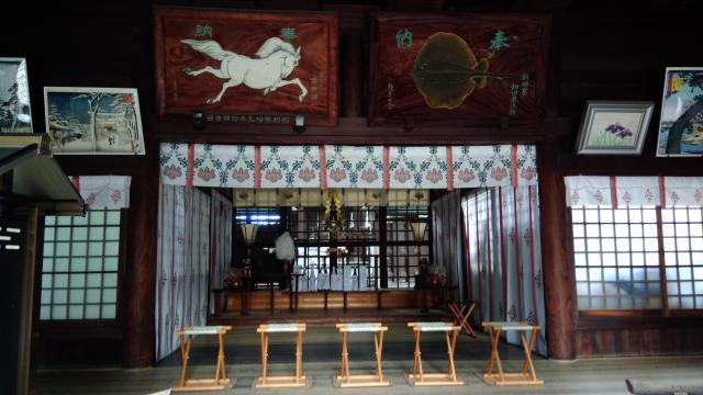大阪府廣田神社の本殿
