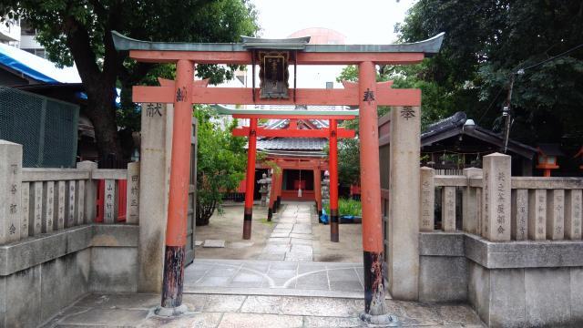 大阪府廣田神社の鳥居