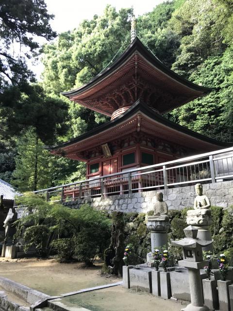 香川県八栗寺の塔