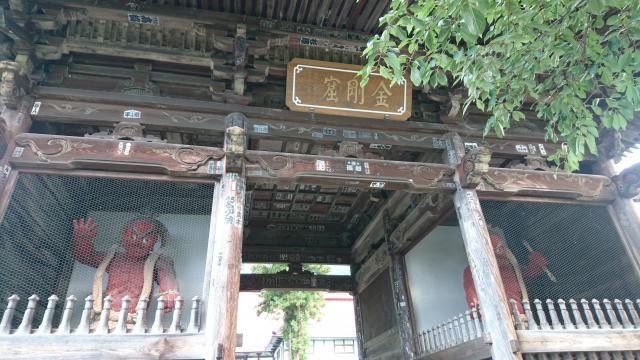 長野県岩松院の山門
