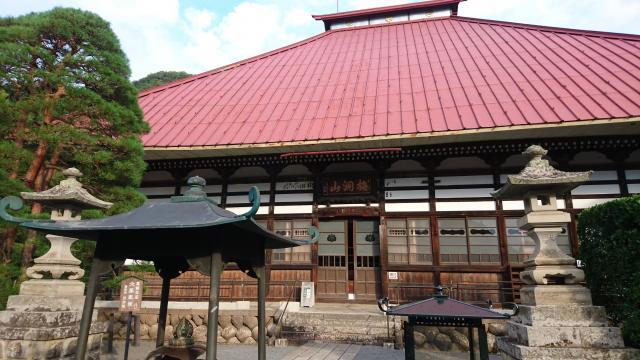 長野県岩松院の本殿