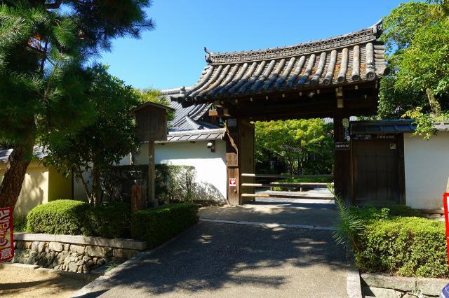 京都府天得院の山門