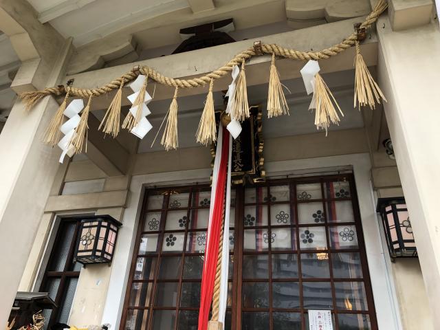 綱敷天神社御旅社の本殿