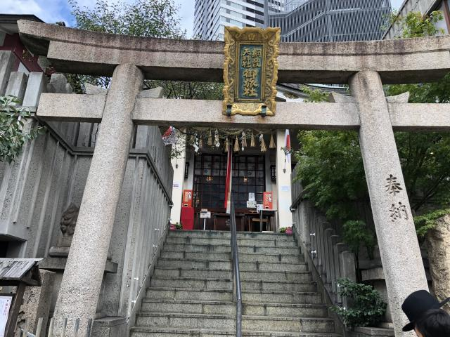 綱敷天神社御旅社の鳥居