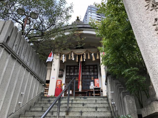 大阪府綱敷天神社御旅社の本殿