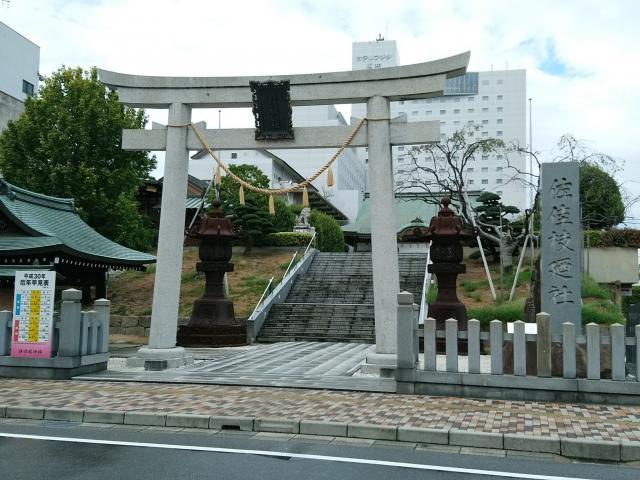 福井県佐佳枝廼社の鳥居
