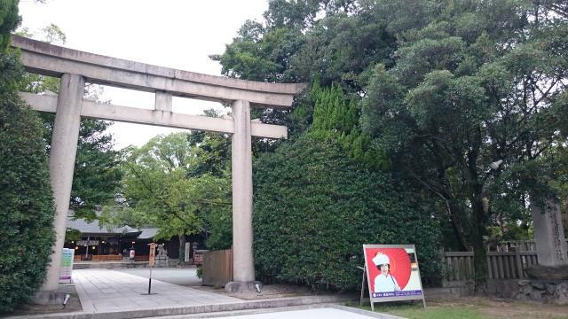 兵庫縣姫路護国神社の鳥居
