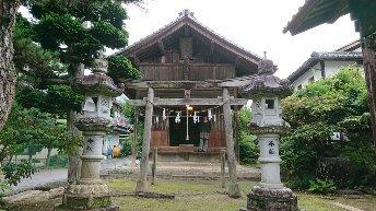 長野県倶梨迦羅神社の本殿