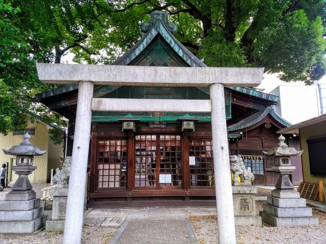 愛知県金山神社の鳥居
