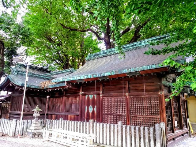 愛知県金山神社の本殿