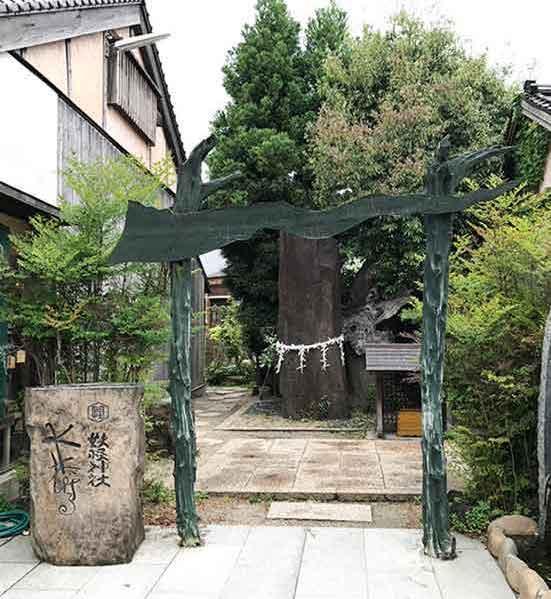 鳥取県妖怪神社の鳥居