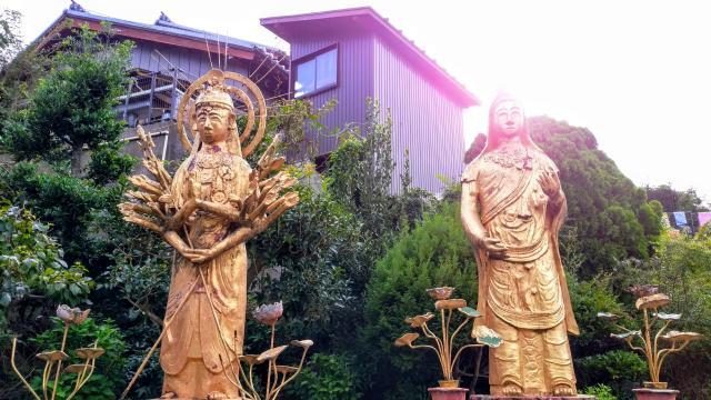 天竜山 誓海寺の仏像