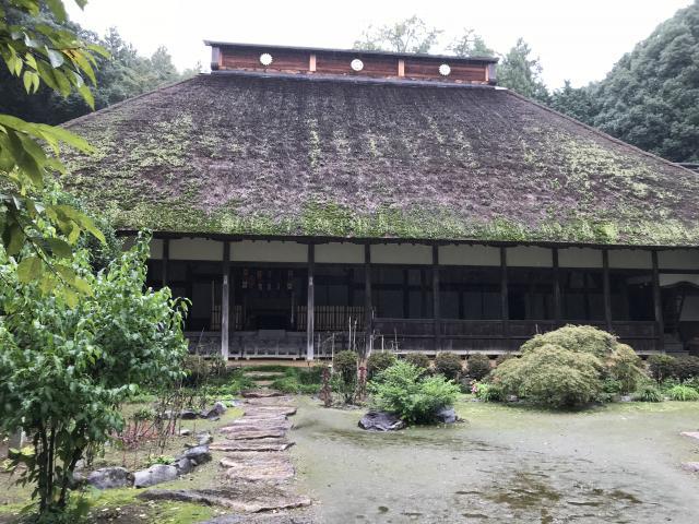 栃木県大雄寺の本殿