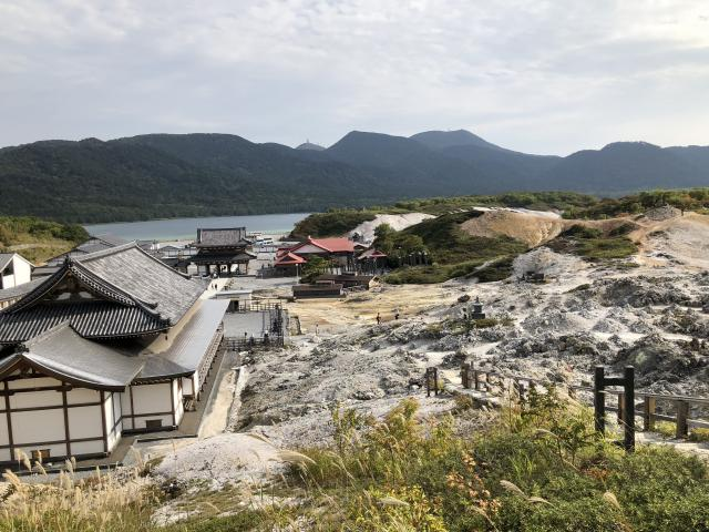 菩提寺(恐山)の景色