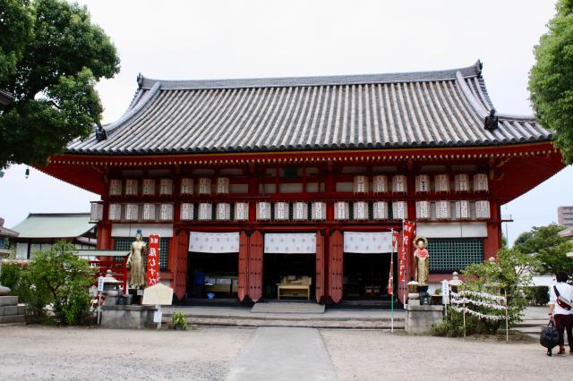 大阪府勝鬘院の本殿