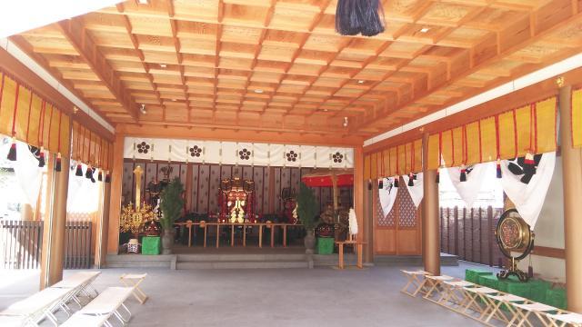 京都府北野天満宮御旅所(神輿岡神社)の本殿