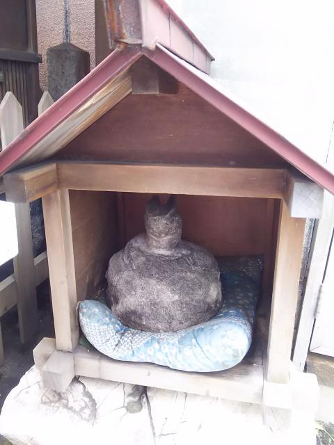 柳里神社の狛犬