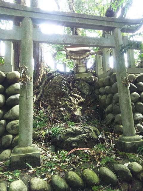 岐阜県古呂婆受宮の鳥居