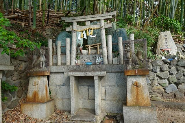 大阪府瓢箪山稲荷神社の本殿