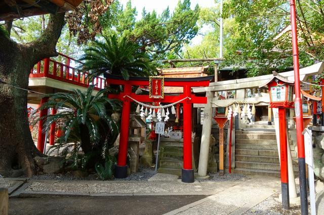 大阪府瓢箪山稲荷神社の鳥居