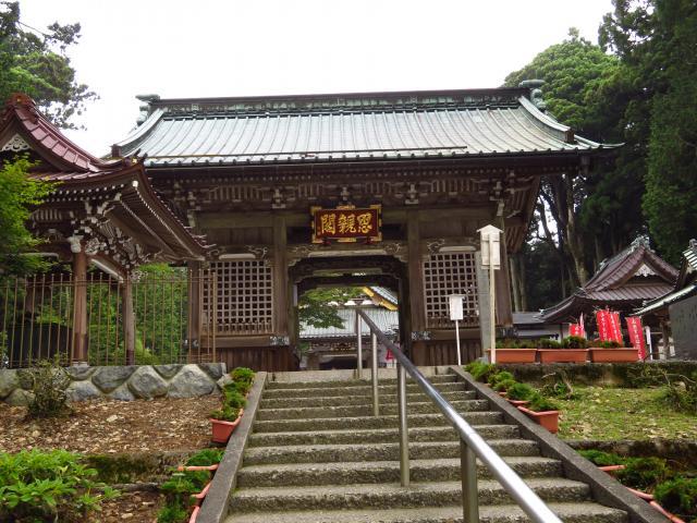 山梨県久遠寺の本殿