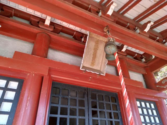 新宿稲荷神社の本殿