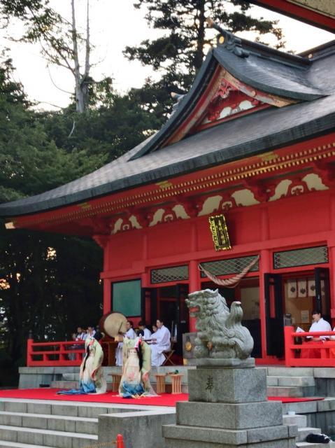 赤城神社の神楽
