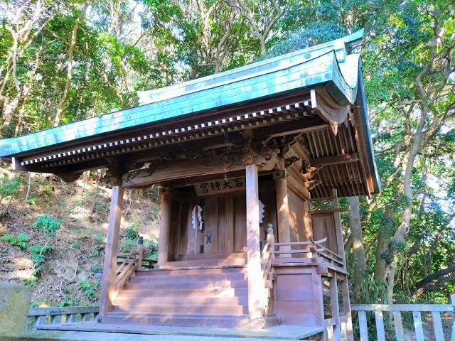 愛知県廣石神社の本殿