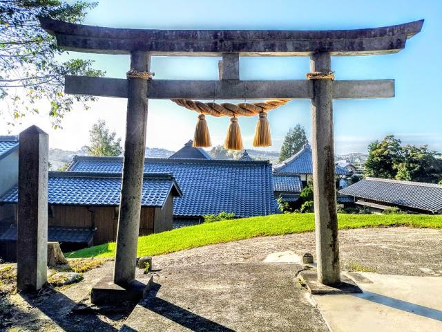 愛知県廣石神社の鳥居