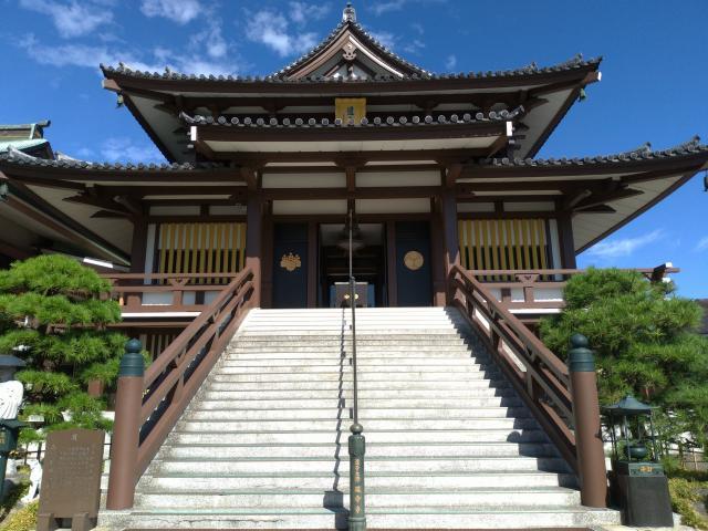 延命寺(通称逗子大師延命寺)の本殿